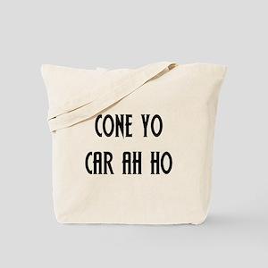 Coño Carajo Tote Bag