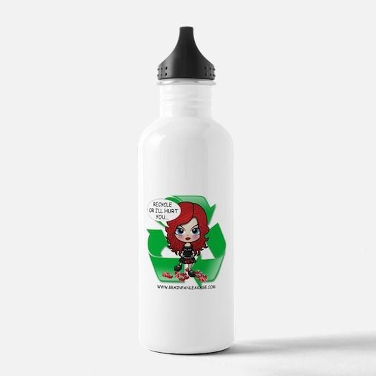 EK Recycles Water Bottle