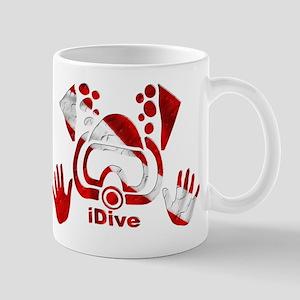 iDive Dive Flag Original Mug
