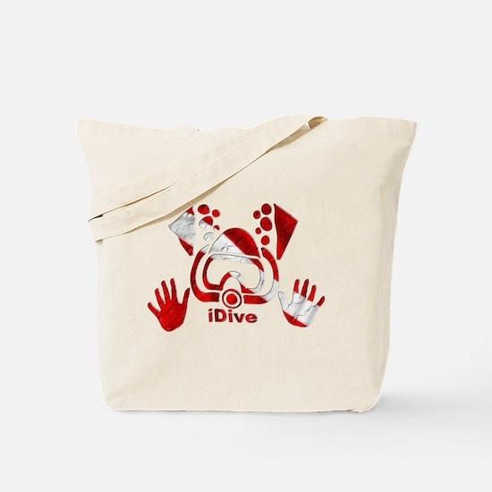 iDive Dive Flag Original Tote Bag