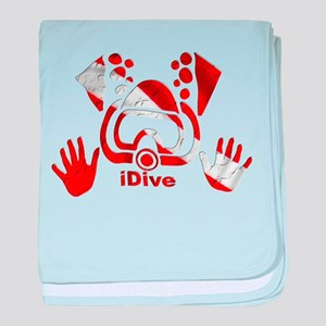 iDive Dive Flag Original baby blanket
