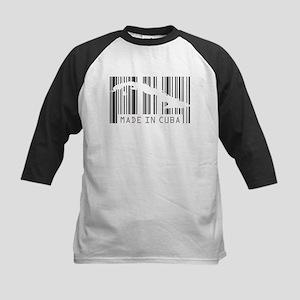 Made in Cuba Barcode Kids Baseball Jersey
