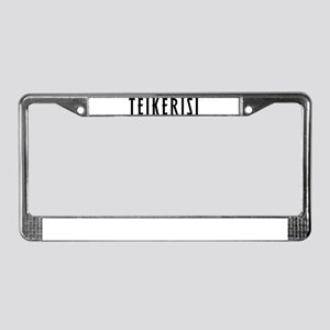 Take it Easy! License Plate Frame