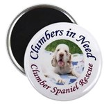 """Clumber Spaniel 2.25"""" Magnet (100 pack)"""