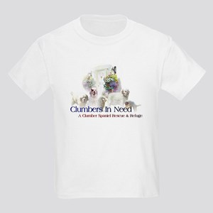 Clumber Spaniel Kids Light T-Shirt