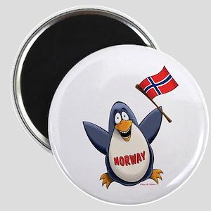 Norway Penguin Magnet