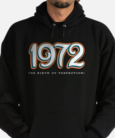 1972 The birth of Perfection Hoodie (dark)
