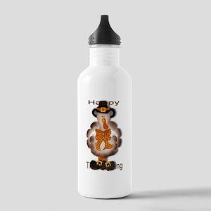 Thanksgiving Turkey Stainless Water Bottle 1.0L