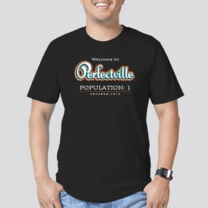 Perfectville Men's Fitted T-Shirt (dark)