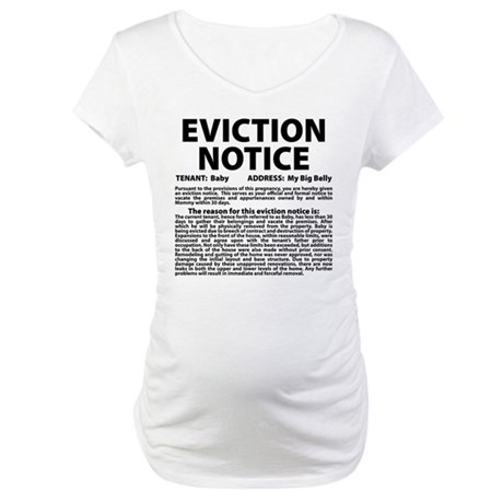 Baby Eviction Maternity T-Shirt