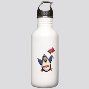 Norway Penguin Stainless Water Bottle 1.0L