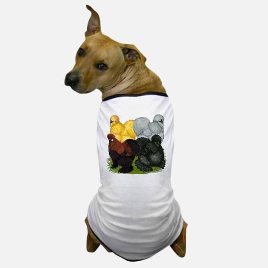Silkie Assortment Dog T-Shirt