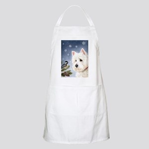 WESTIE WINTER WONDERS Apron