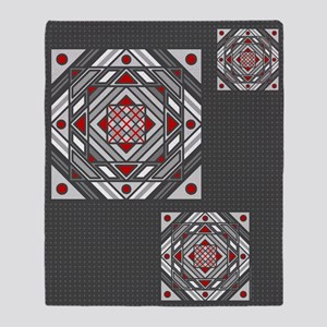 Tunnel Vision Throw Blanket