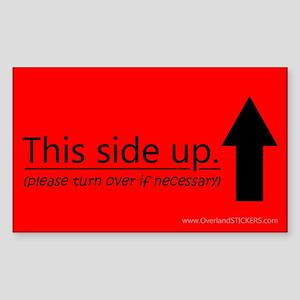 Safety - Sample Sticker (Rectangle)