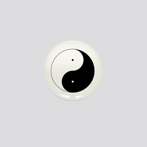 Daoism Yin & Yang Mini Button