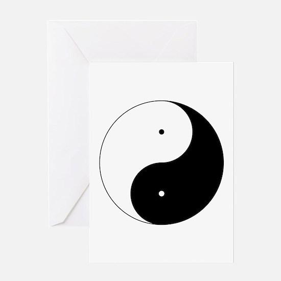 Daoism Yin & Yang Greeting Card