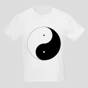 Daoism Yin & Yang Kids Light T-Shirt