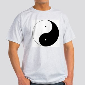 Daoism Yin & Yang Light T-Shirt
