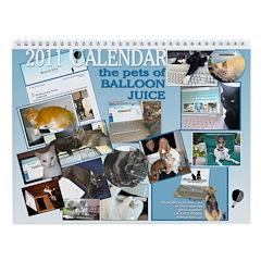 The Pets of Balloon Juice 2011 Calendar
