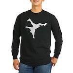 Breakdancing Long Sleeve Dark T-Shirt