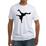 Breakdancing Fitted T-Shirt