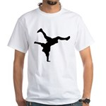 Breakdancing White T-Shirt