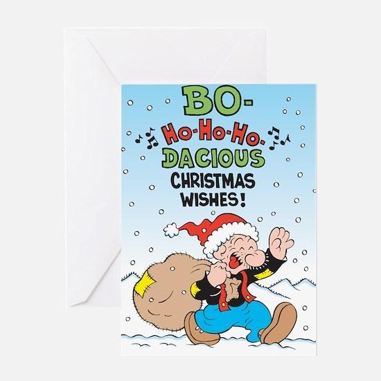 Bo-ho-ho! Greeting Card