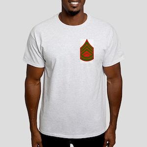 Gunnery Sergeant<BR> Ash Grey T-Shirt
