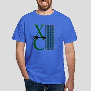 XC Run Dark Green White Dark T-Shirt