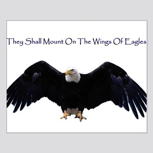 Wings Of Eagles Small Poster