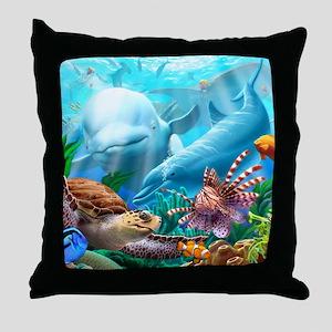 Seavilions Throw Pillow
