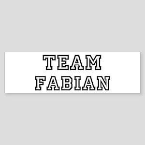 Team Fabian Bumper Sticker