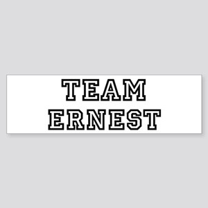 Team Ernest Bumper Sticker