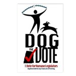 Dog the Vote: No Chains Postcards (Package of 8)