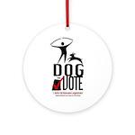 Dog the Vote: No Chains Ornament (Round)