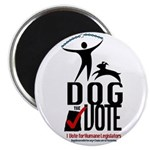 Dog the Vote: No Chains Magnet