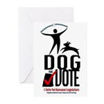 Dog the Vote: No Chains Greeting Cards (Pk of 10)