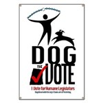 Dog the Vote: No Chains Banner