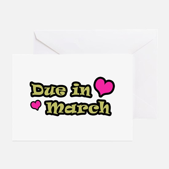 Due in March  Greeting Cards (Pk of 10)