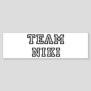 Team Niki Bumper Sticker
