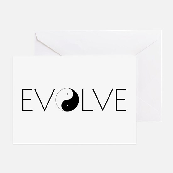 Evolve Balance Greeting Card