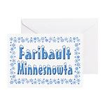 Faribault Minnesnowta Greeting Card