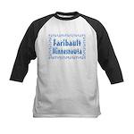 Faribault Minnesnowta Kids Baseball Jersey