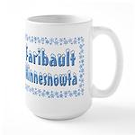 Faribault Minnesnowta Large Mug