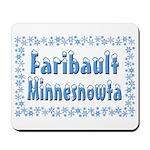 Faribault Minnesnowta Mousepad