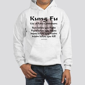 Kung Fu Use of Force Hooded Sweatshirt
