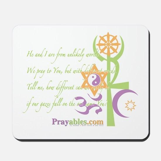 Multi-Faith: Mousepad