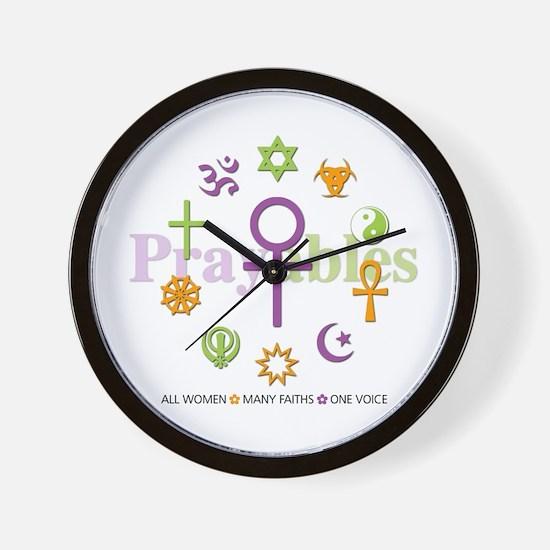 Faith Circle: Wall Clock