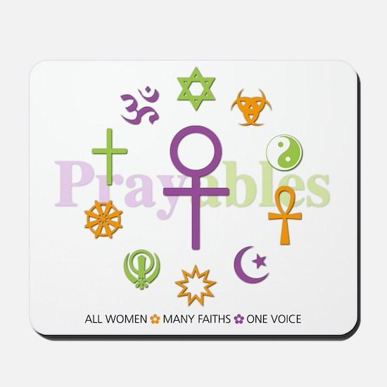 Faith Circle: Mousepad